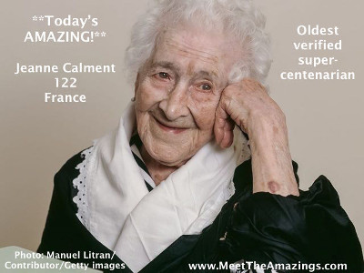 Jeanne Calment CREDIT Manuel Litran_Contributor_Getty images